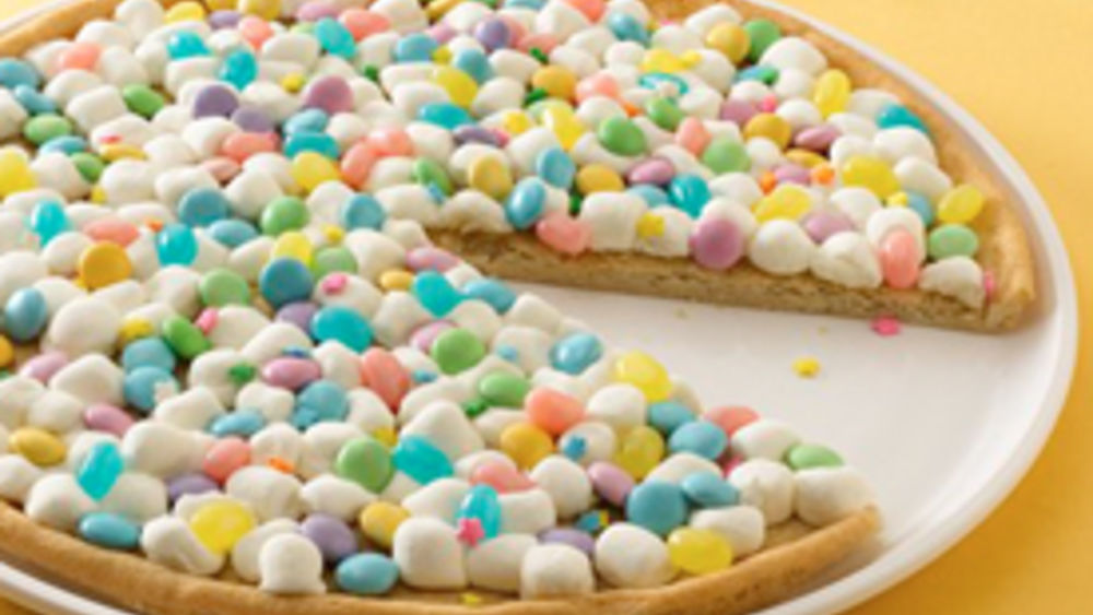 Spring Cookie Pizza