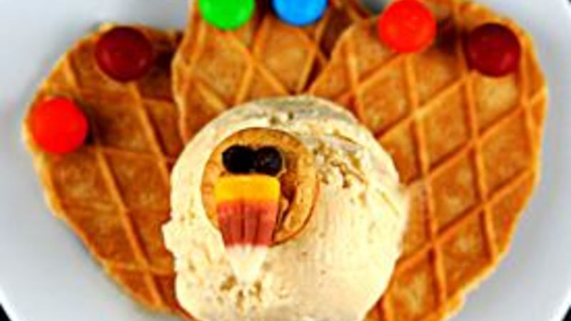 Peanut Butter Turkey Sundaes