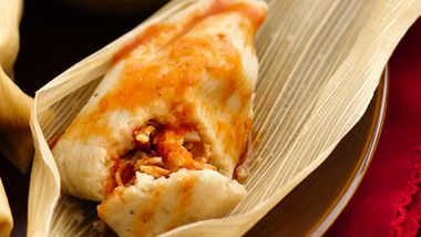 Chicken Tamales with Adobo Sauce