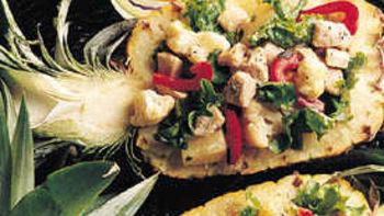Turkey-Pineapple Salad