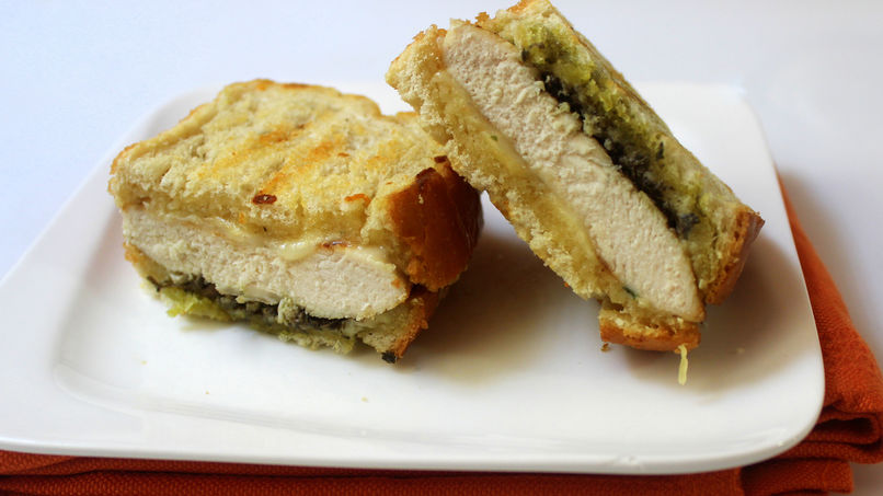 Chicken Panini with Pesto