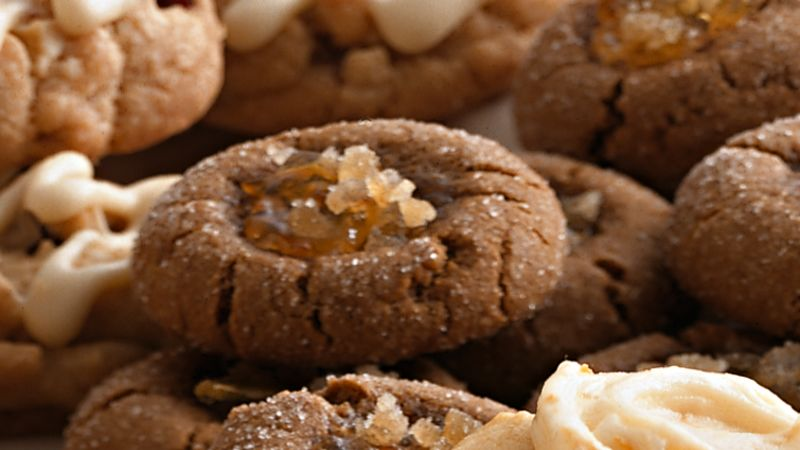 Double-Ginger Cookies recipe from Betty Crocker