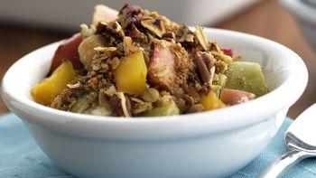 Skinny Apple-Mango Crisp