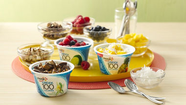 Greek 100 Tropical Fruit FroYo