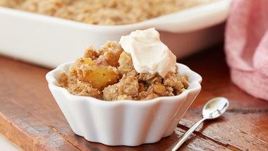 Gluten-Free Caramel Apple Crisp