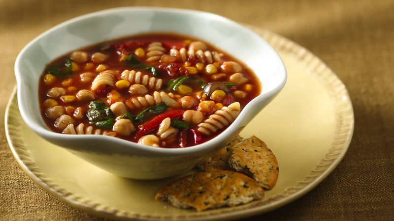 Slow-Cooker Mexican Minestrone
