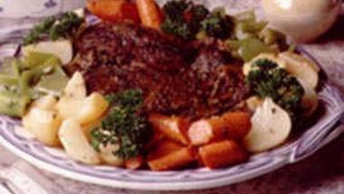 Herbed Pot Roast with Vegetables