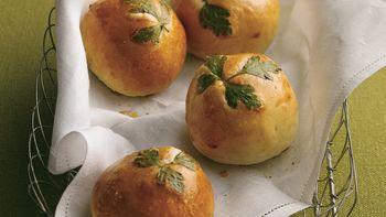 Fresh Herb-Topped Rolls