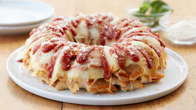 Cheesy Pepperoni Pizza Sticks Recipe Pillsbury Com