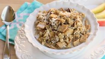 Hot Steamed Granola Crunch