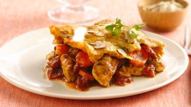 Moroccan-Style Chicken-Crescent Casserole