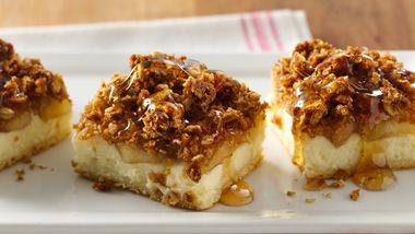 Apple Cream Cheese Crunch Bars