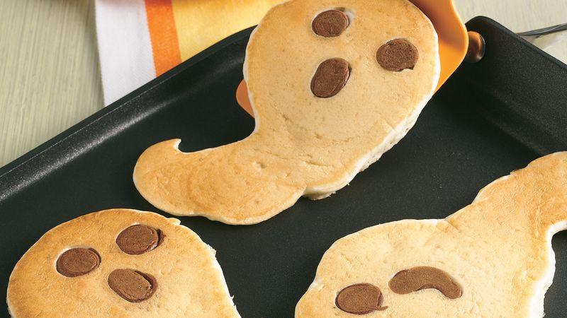 Halloween Ghost Pancakes