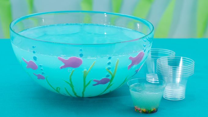 Blue Fish Kiddie Cocktails