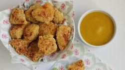 Nuggets de Pollo y Miel-Mostaza