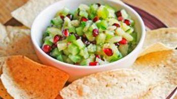 Quickie Pineapple Pomegranate Salsa