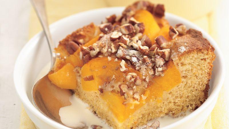 Peach-Pecan Cobbler