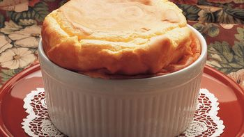 Classic Cheese Soufflé