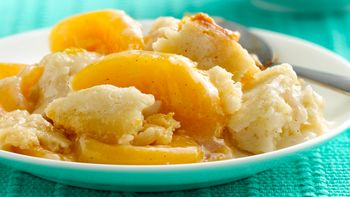Slow-Cooker Peach Cobbler