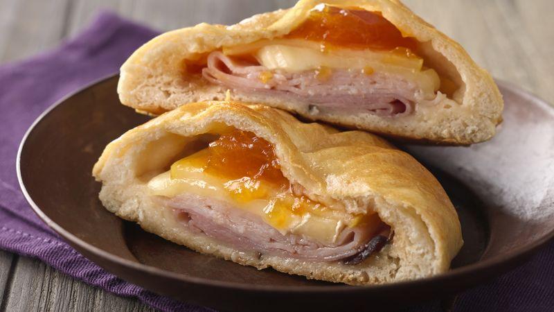 Sweet Brie Breakfast Sandwiches