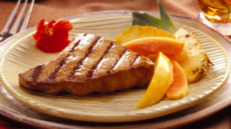 Filetes de Atún con Jengibre y Limón