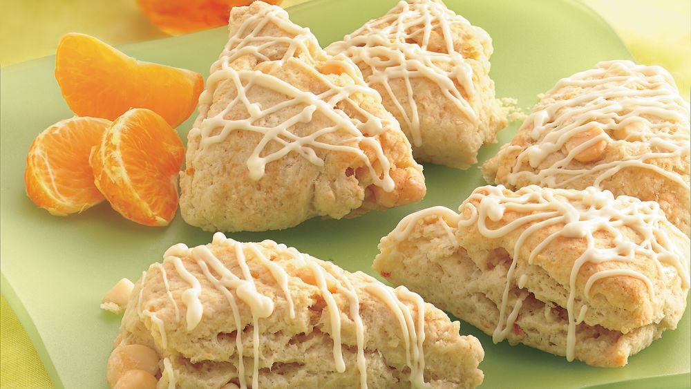 Petite Orange and Cream Scones