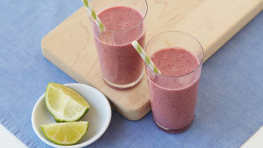 Cherry-Lime Smoothies