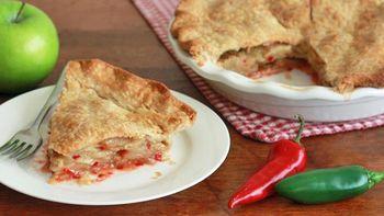 Jalapeño Apple Pie