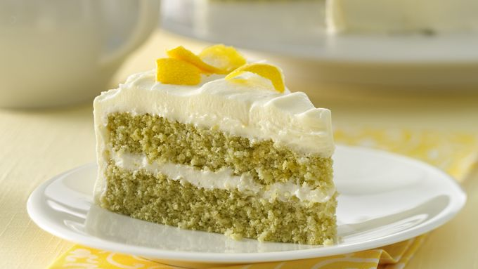 Green Tea with Lemon Cake