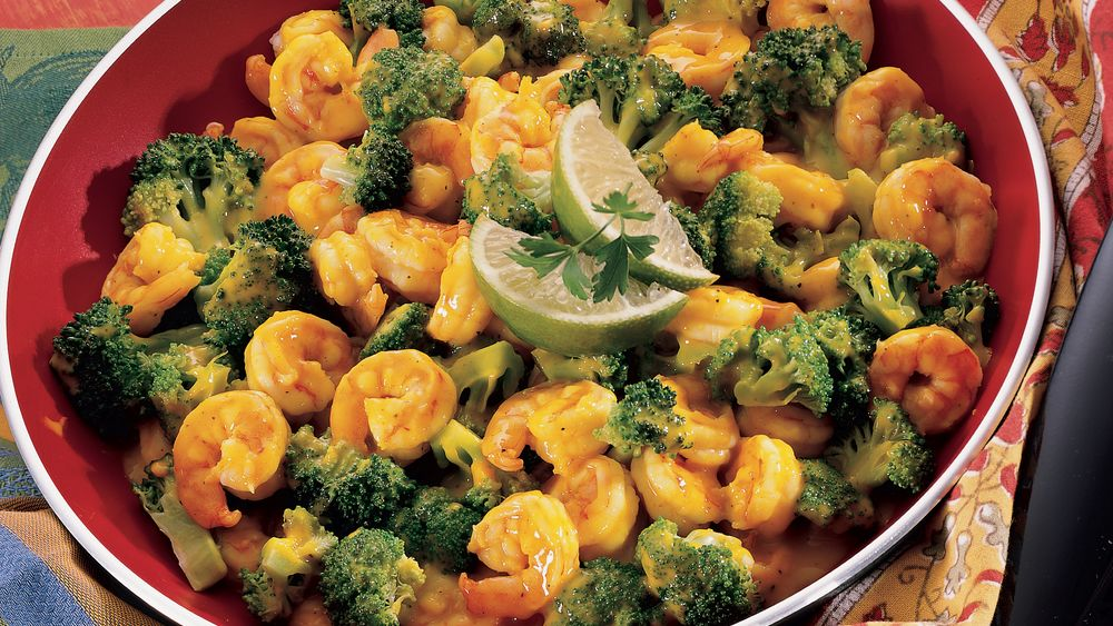 Curried Shrimp and Broccoli