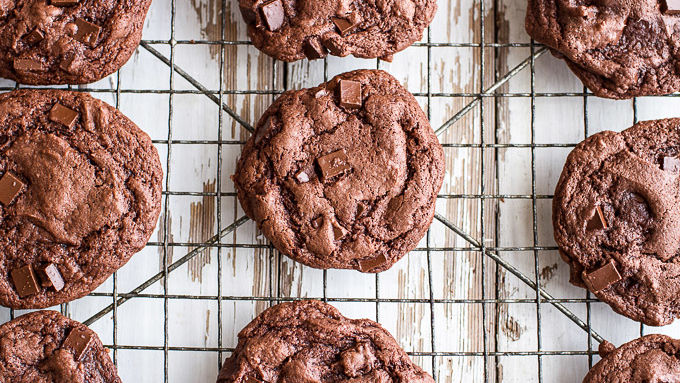Death By Chocolate Caramel Cookies Recipe Tablespoon Com
