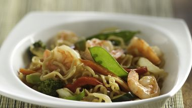 Ramen Shrimp and Vegetables