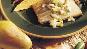 Tuna with Pear Salsa