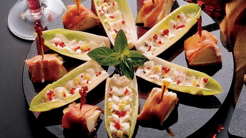 Prosciutto-Wrapped Fruit