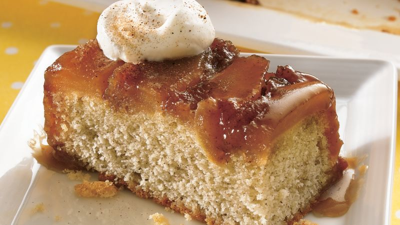 Caramel-Apple Upside-Down Cake