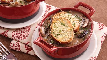 Mushroom and Onion Pot Pies