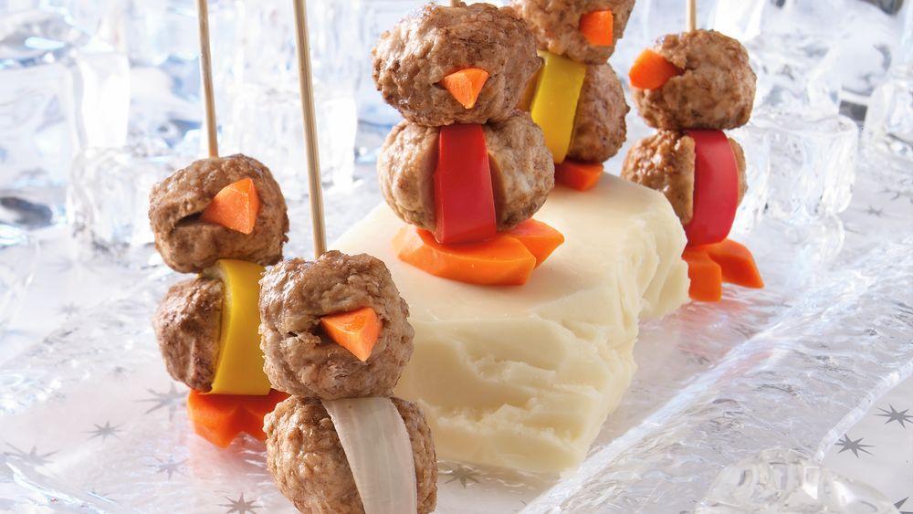 Penguin Meatballs