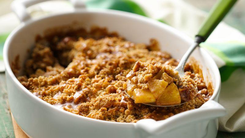 Caramel Apple Oatmeal Crisp