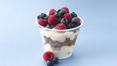 Fruit with Yogurt and Granola