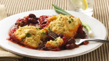 Chili-Bean Bake (Cooking for 2)