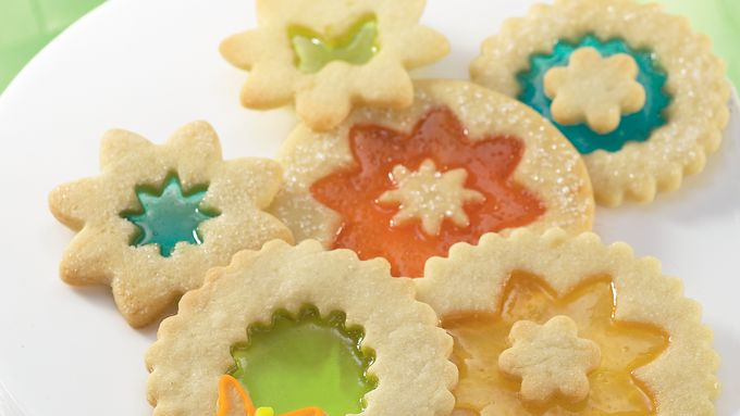 Magic Window Cookies