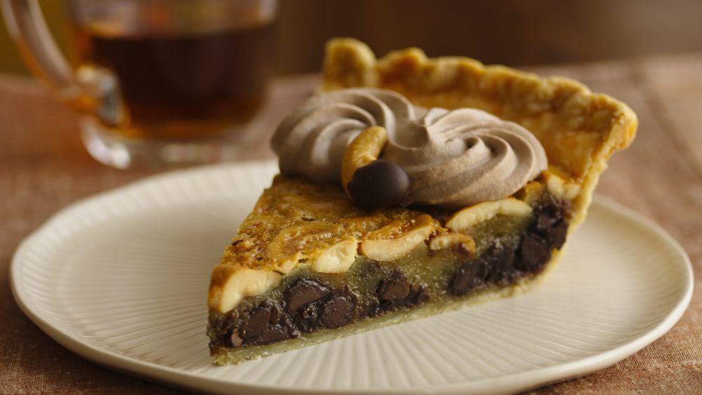 Chocolate-Cashew Pie recipe from Pillsbury.com