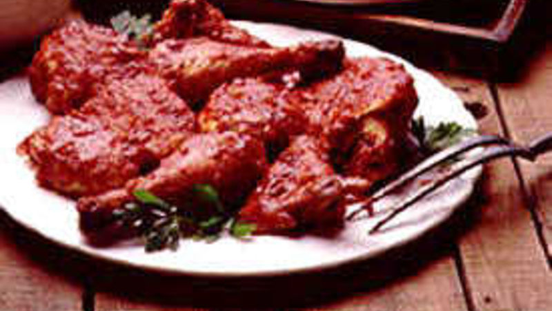 Grilled Mouth-Watering Barbecued Chicken