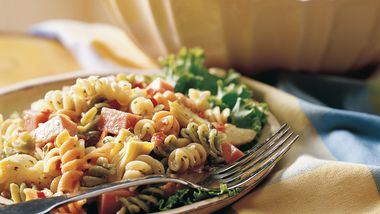 Dijon Ham and Pasta Salad
