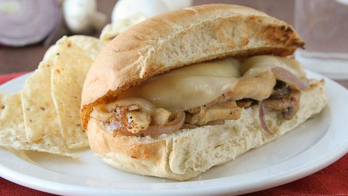 Cheesy Chicken Sandwiches