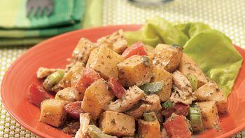 Pesto-Chicken-Potato Salad