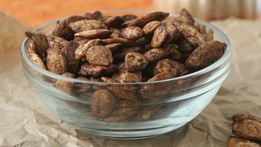 Cinnamon Sugar Pumpkin Seeds