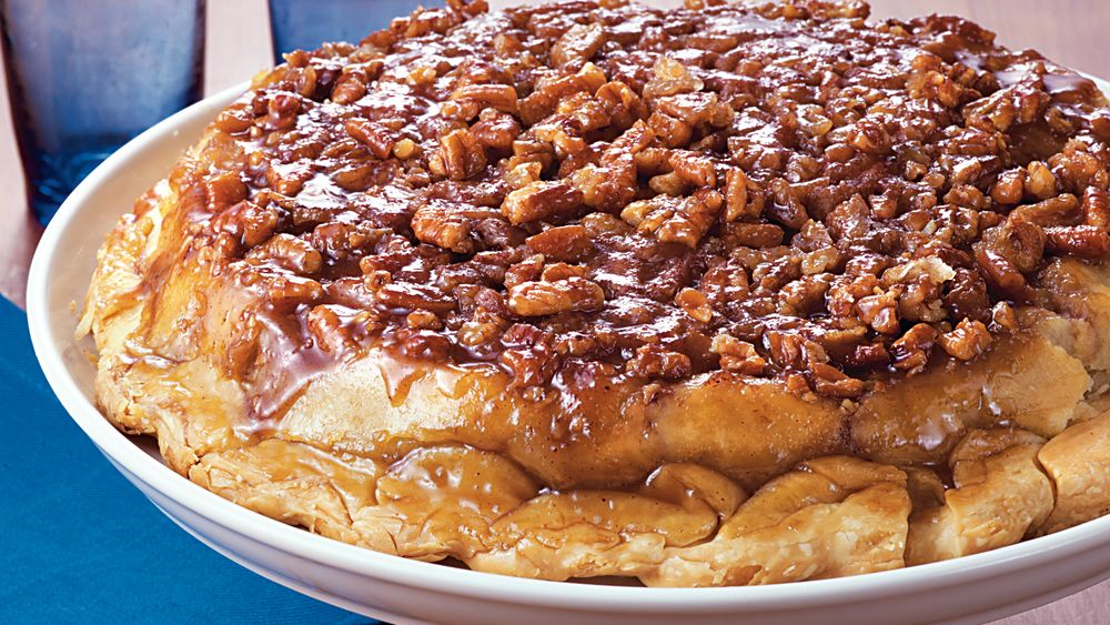 Apple Upside-Down Pie