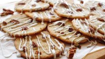 Super Easy Butter-Pecan Cookies