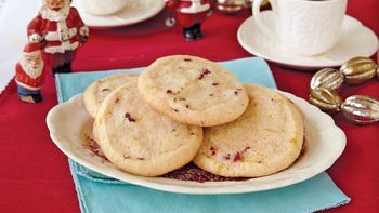 Rosemary Cranberry Cookies